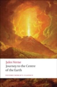 Journey to the Centre of the Earth - Jules Verne - cover