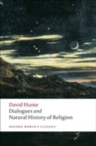 Dialogues Concerning Natural Religion, and The Natural History of Religion - David Hume - cover