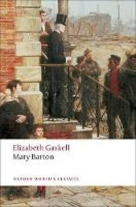 Mary Barton - Elizabeth Gaskell - cover