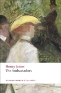 The Ambassadors - Henry James - cover