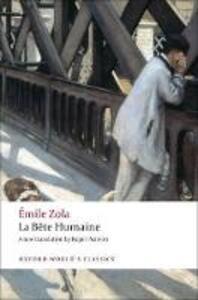 La Bete humaine - Emile Zola - cover