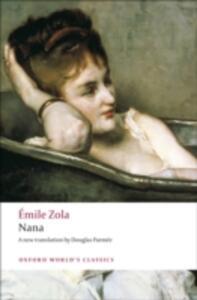 Nana - Emile Zola - cover