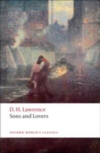 Sons and Lovers - D. H. Lawrence - cover