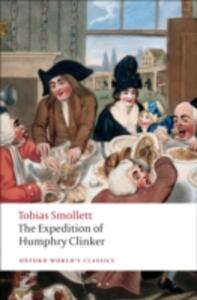 The Expedition of Humphry Clinker - Tobias Smollett - cover