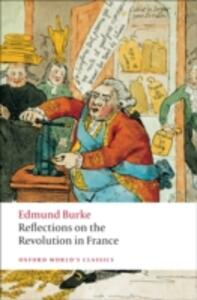 Reflections on the Revolution in France - Edmund Burke - cover