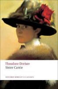 Sister Carrie - Theodore Dreiser - cover
