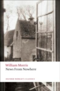 News from Nowhere - William Morris - cover