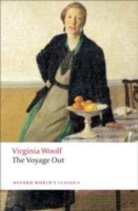 The Voyage Out - Virginia Woolf - cover