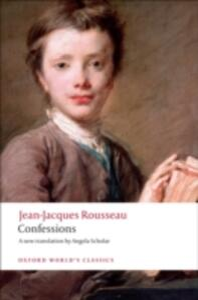 Confessions - Jean-Jacques Rousseau - cover