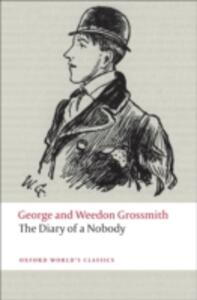 The Diary of a Nobody - George Grossmith,Weedon Grossmith - cover