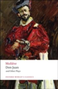 Don Juan and Other Plays - Moliere - cover