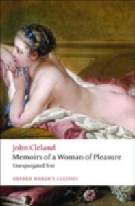 Memoirs of a Woman of Pleasure - John Cleland - cover