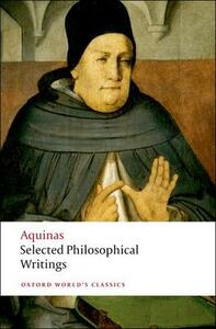 Selected Philosophical Writings - Thomas Aquinas - cover