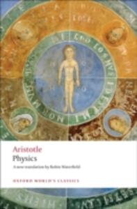 Physics - Aristotle - cover