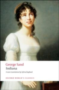 Indiana - George Sand - cover