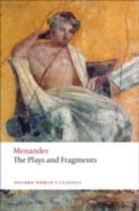 The Plays and Fragments - Menander - cover