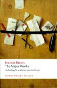 Francis Bacon: The Major Works - Francis Bacon - cover