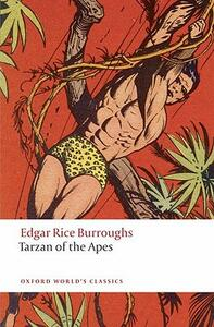 Tarzan of the Apes - Edgar Rice Burroughs - cover
