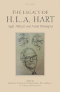 The Legacy of H.L.A. Hart: Legal, Political and Moral Philosophy - cover