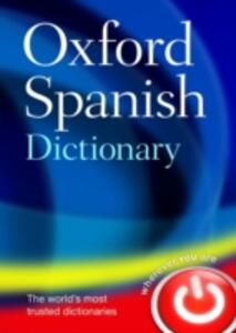 Oxford Spanish Dictionary - cover