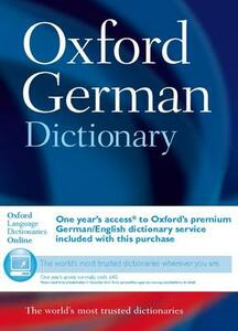 Oxford German Dictionary - Oxford Dictionaries - cover