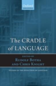 The Cradle of Language - cover