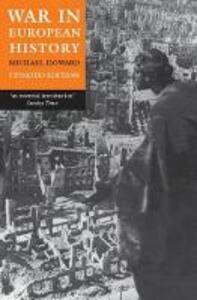 War in European History - Michael Howard - cover