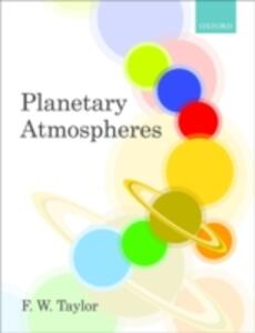 Planetary Atmospheres - F. W. Taylor - cover