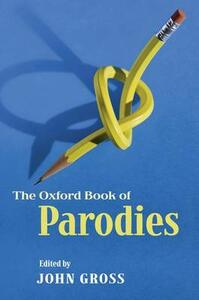 The Oxford Book of Parodies - cover