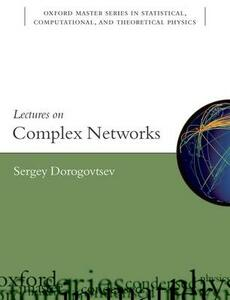 Lectures on Complex Networks - Sergey Dorogovtsev - cover