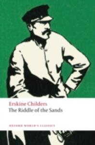 The Riddle of the Sands: A Record of Secret Service - Erskine Childers - cover