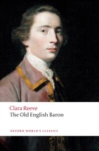 The Old English Baron - Clara Reeve - cover