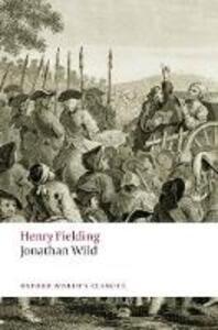 Jonathan Wild - Henry Fielding - cover
