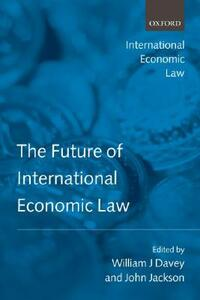 The Future of International Economic Law - cover
