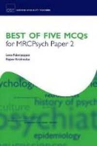 Best of Five MCQs for MRCPsych Paper 2 - Lena Palaniyappan,Rajeev Krishnadas - cover