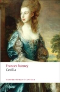 Cecilia: or Memoirs of an Heiress - Fanny Burney - cover
