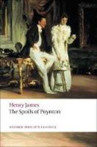 The Spoils of Poynton - Henry James - cover