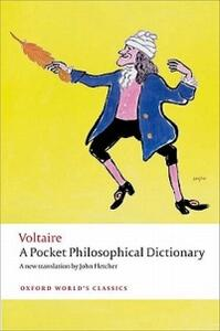 A Pocket Philosophical Dictionary - Voltaire - cover