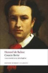 Cousin Bette - Honore de Balzac - cover