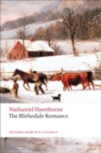 The Blithedale Romance - Nathaniel Hawthorne - cover