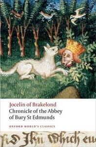 Chronicle of the Abbey of Bury St. Edmunds - Jocelin of Brakelond - cover