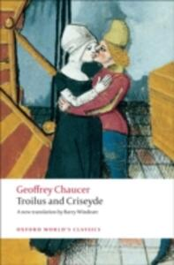 Troilus and Criseyde: A New Translation - Geoffrey Chaucer - cover
