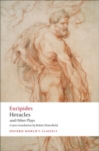Heracles and Other Plays - Euripides - cover