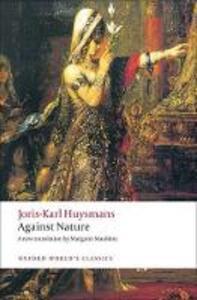 Against Nature - Joris-Karl Huysmans - cover