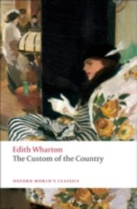 The Custom of the Country - Edith Wharton - cover