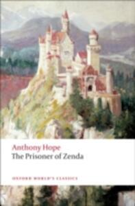 The Prisoner of Zenda - Anthony Hope - cover
