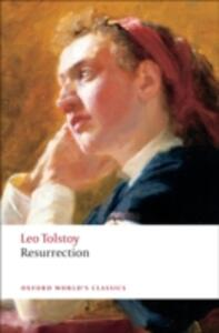 Resurrection - Leo Tolstoy - cover