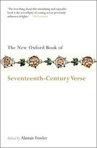 The New Oxford Book of Seventeenth-Century Verse - cover