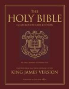 King James Bible: 400th Anniversary Edition - cover