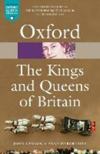 The Kings and Queens of Britain - John Cannon,Anne Hargreaves - cover